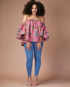 Collection of the most beautiful and stylish ankara peplum tops of 2018 every lady must have. See these latest stylish ankara peplum tops that'll make you stun African Fashion Ankara, Latest African Fashion Dresses, African Print Fashion, Africa Fashion, African Wear, African Attire, African Women, Ankara Dress Styles, African Print Dresses