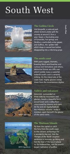 Highlights of South West Iceland - discover more in our new Iceland&Greenland brochure: http://view.intellimag.com/go/dtw-iceland-greenland/