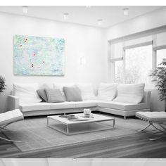 Modular Exitence - Mixed Media on Canvas by www.renaegeddes.com #renaegeddes #thismomentrightnow #artist #art