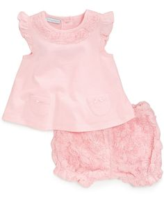 First Impressions Baby Girls' 2-Piece Tunic & Shorts Set - Kids Baby Girl (0-24 months) - Macy's 34.50