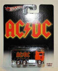 HOT WHEELS AC/DC HIWAY HAULER REAL RIDERS