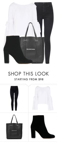 """Outfit #1894"" by lauraandrade98 on Polyvore featuring moda, J Brand, Free People y Balenciaga"