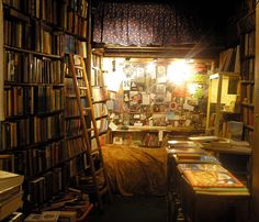 book store by arranging constellations, via Flickr
