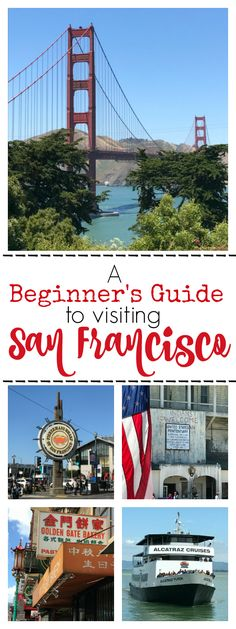 This beginner's guide to visiting San Francisco will give you information to use when planning your trip to the Bay Area and wanting to visit San Francisco.