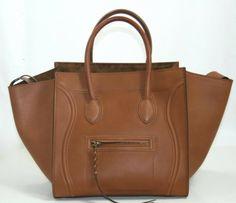 Celine Luggage Brown Box Calf Phantom Shopper