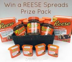 Enter to win a Reese Prize Pack full of Reese Spreads and Snacksters.  The giveaway is open to Canada only and ends October 3, 2015.