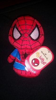 #spiderman #ittybittys @hallmark @influenster I received this free from influenster for testing purposes #jinglevoxbox #contest