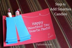 Smartie Pants I'll be making these for my kids in valentines day!!