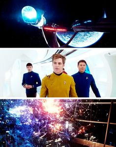 Stills from Star Trek Beyond 2016