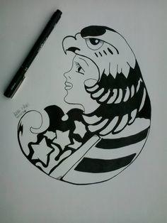 ''Srta. eagle''