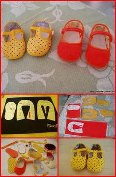 55+ DIY Baby Shoes with Free Patterns and Tutorials - Page 5 of 6 - DIY & Crafts