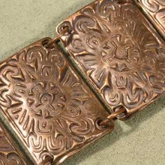 Prairie Willow Jewelry: Dreamin of a Hot Sunny Day - Copper Panel Bracelet