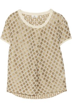 Could make a similar one out of a heavy, almost upholstery fabric.  A statement top    via @stylelist