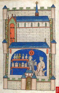 Apothecary shop - 14th century