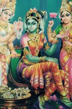 Indian Goddess, Goddess Art, Goddess Lakshmi, Green Goddess, Shiva Parvati Images, Shiva Shakti, Saraswati Devi, Durga Maa, Hindu Dharma