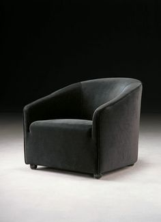 basic black chair