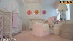 Hilaria Baldwin shows off her baby's nursery - perfect for baby girl!