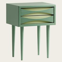 Painted nightstands rather than wood finish to match rest of furniture?