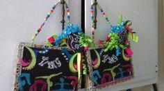 Gymnastic cigar box purses made for Mrs. Reid. By Cyndi Greer