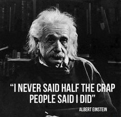 Funny Einstein Quotes