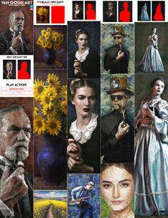 Van Gogh Art Photoshop Action  - Turns your photo into a picture with Van Gogh style.  Download here: https://graphicriver.net/item/van-gogh-art-photoshop-action/20333986?ref=KlitVogli