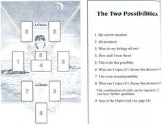 Tarot spreads | Tarot card spreads |Two paths