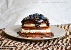 Chocolate Pancakes with Ricotta Filling