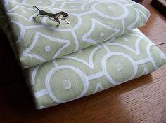 Cotton Fabric 6 Metres Cream Prestigious Fabric Pale Sage