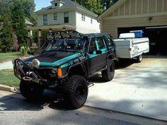 Jeepys: Modified Jeep XJ