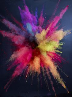 Photographer Martin Klimas on Feature Shoot Projector Photography, Art Photography, Colored Chalk Powder, Color Powder, Martin Klimas, Holi Wishes Quotes, Overlays, Holi Photo, Color Dust