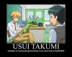 Find images and videos about anime, kaichou wa maid sama and usui takumi on We Heart It - the app to get lost in what you love. Usui Takumi, Misaki, Anime Guys, Manga Anime, Anime Nerd, Ao Haru, Anime Motivational Posters, Memes, Natsume Yuujinchou