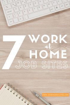Want to #WorkFromHome? Here are my FAVORITE websites to find #Jobs (No registration required!!)