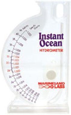 Instant Ocean SeaTest Hydrometer - http://www.petsupplyliquidators.com/instant-ocean-seatest-hydrometer/