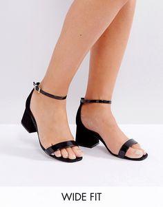 ASOS | ASOS HONEYDEW Wide Fit Heeled Sandals