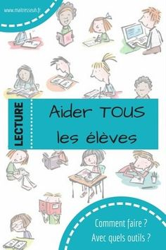 Lecture en ateliers : Aider TOUS les élèves à progresser - Maitresseuh French Language Learning, Cycle 3, School Life, Reading Strategies, Dyslexia, Learn French, Learning Resources, Kids Education, Literacy
