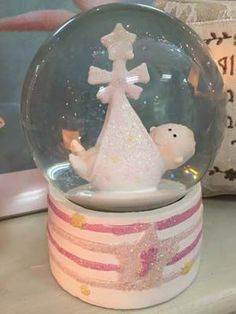 Baby Girl Snow Globe | Buy Now