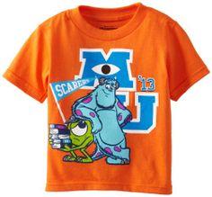 Disney Boys 2-7 Monsters U Little Terror Tee Toddler, Orange, 2T Disney http://www.amazon.com/dp/B00CM9A1CY/ref=cm_sw_r_pi_dp_u90Jtb08YPYH4PXN