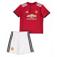 45604957f Kids Manchester United Home Soccer Jersey Kit Children Shirt And Shorts.  Jerseymate