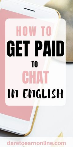 Why not get paid doing something that comes natural to you like chatting it up with someone. In this post I share How To Get Paid To Chat In English. Amazon Work From Home, Legit Work From Home, Work From Home Moms, Make Money From Home, How To Make Money, How To Get, Online Earning, Earn Money Online, Business Advice