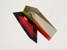 These multi-colored Lucite Lux® sculptures from New York artist Philip Low are absolutely brilliant.