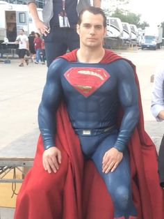 For reasons. | Henry Cavill And His Super Bulge Take The Ice Bucket Challenge