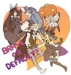 Bravely Default Halloween [(c) original artist (not mine)]