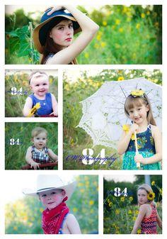 Wildflowers and kids.