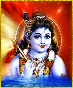 """""""With the rising of His moon-like face, this certain person known as Krishna is nourishing the faded lustre of the cooling moon and doubling the ocean of my thirst to see Him. He is my very life.""""~Krishna karnamrita"""