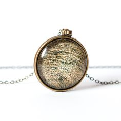 Naszyjnik z siankiem / Hay necklace - Art-Of-Nature