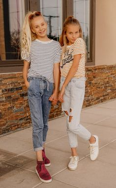 >>>Visit>> Weekday Casual Looks – MINI FASHION ADDICTS striped tees tween style teen style tween outfits teen outfit ideas school outfits sisters bff goals mini backpack fanny pack Outfits Niños, Outfits Casual, Cute Girl Outfits, Kids Outfits Girls, Spring Outfits, Fashion Outfits, Work Outfits, Black Outfits, Cute Outfits For Kids