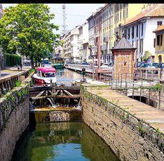 Le chiuse di Leonardo - navigli milanesi