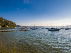 Pittwater on Sydney's Northern Beaches / http://www.desireempire.com/2012/10/beach-house-tour-in-paradise.html