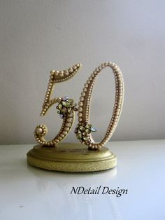 Hey, I found this really awesome Etsy listing at https://www.etsy.com/listing/200842397/cake-topper-50th-golden