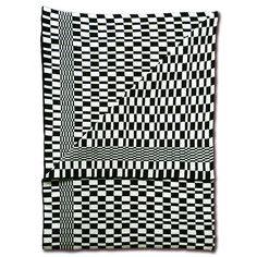 My design inspiration: Knit Throw Stripes Black on Fab.